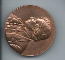 Médaille De Table/Le Verrier / Fondateur De La Météorologie Moderne/Bronze/Monnaie De Paris /vers 2000     MED19 - France