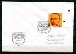 "Germany 2001 Heimatbeleg,Postal Cover-93047 Regensburg Mit Mi.Nr2135.u.SST""Regensburg 1-Cartellversammlung Der."" 1 Beleg - Cartas"