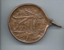 Médaille Avec Anneau/L'Homme Tout Entier : Ame , Corps Et Esprit/Bronze/Monnaie De Paris /vers 1980     MED22 - France