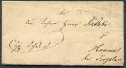 1839 Altdeutschland Vorphila Brief Ferdinandshof - Hammer - Germany