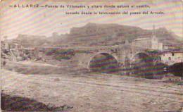 ALLARIZ - Puente De Villanueva Y Altura Donde Estuvo El Castillo, Tomado Desde La Terminacion Del Paseo Del Arnado - Orense