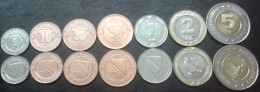 Bosnia And Herzegovina COMPLETE COIN SET 2005-2013. UNC - Bosnia And Herzegovina
