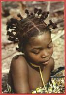 CARTOLINA VG KENYA - L'AFRIQUE EN COULEURS - Petite Fille - Bambina - 10 X 15 - ANN. 1973 NAIROBI - Kenia
