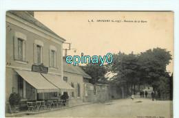 Br - 44 - SAVENAY - Avenue De La Gare - Hôtel - RARE Et INCONNUE VISUEL  - édition Vasselier - Savenay