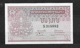Laos: :billet N´ayant Pas Circulé De 1 Kip état Neuf - Laos