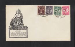 Romania Commemorative Cover December 1st  1933 - 1918-1948 Ferdinand, Charles II & Michael