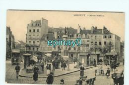 B - 56 - LORIENT - Place Bisson  - édition Moka - - Lorient