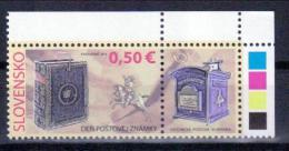 Slowakei 'Tag Der Briefmarke, Hist. Briefkästen' / Slovakia 'Stamp Day, Historic Mailboxes' **/MNH 2011 - Correo Postal