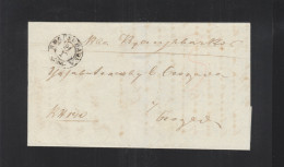 Serbia Letter 1864 Kragujevac To Beograd - Serbien
