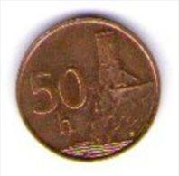 Slovacchia Slovenska 50 Heleru 1996 - Slovacchia