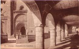 ORENSE - Entrada A La Catedral - Orense