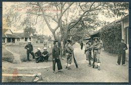 Vietnam Tonkin Hanoi Military Camp Postcard - Vietnam