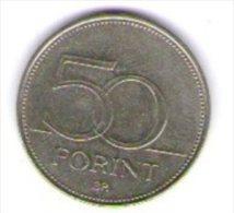 Ungheria Magyar 50 Forint 1997 - Ungheria