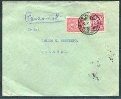 1931 Colombia SCADTA Cartagena - Bogota Cover - Colombia