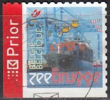 Belgique 2007 COB 3670B O Cote (2016) 2.20 Euro Navire Conteneur Cachet Rond - Gebraucht