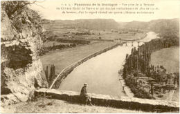 24/ CPA A - Panorama De La Dordogne - Vue Prise De La Terrase Du Chateau De Beynac - France