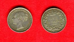 GRANDE BRETAGNE - GREAT BRITAIN - VICTORIA - SHILLING 1883 - 1816-1901 : Frappes XIX° S.