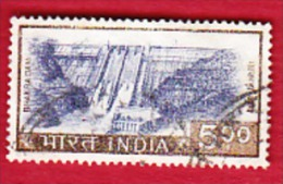 Barrage Bhakra Dam - India