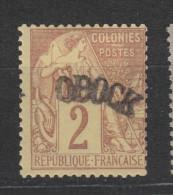 Yvert 2 * Neuf Avec Charnière - Unused Stamps