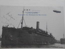 """CPA Paquebot Des Messageries Maritimes """"CAUCASE"""" - Paquebots"""