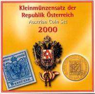 AUSTRIA - AUTRICHE - ÖSTERREICH OFFICIAL SCHILLING COIN SET 2000 - Austria