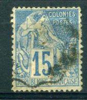 FRANCE ( COLONIES ) :  Y&T N°  51  TIMBRE  AVEC  BELLE  OBLITERATION  ,  A  VOIR .