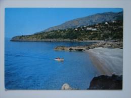 pz1151)  Acquafredda - spiaggetta della Monica e Hotel Villa del Mare