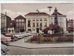 AK Eutin, Markt Am Rathaus, Autos, 1961 Beschrieben - Eutin