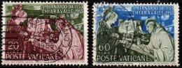 VATICAN - Série Complète Saint Bernard - Oblitérés