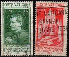 VATICAN - 2 Valeurs Presse Catholique - Vatican
