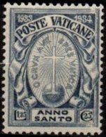 VATICAN - 1.25 L. + 25 C. Année Sainte - Neufs