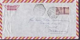 Spain Aereo Par Avion Air Mail MALAGA 196? Cover Letra TISVILDE Denmark - 1931-Heute: 2. Rep. - ... Juan Carlos I