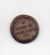 503 I ) - JETON  - COLLECTION  - B P - LOUIS XI - 1467 - Francia