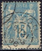 FRANCE # STAMPS FROM YEAR 1878 STANLEY GIBBONS 279 - 1876-1878 Sage (Type I)