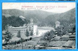 LIPP753, Vallombrosa, Istituto E Paradisino,précurseur,  Circulée 1906 - Italia