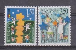 Europa Cept 2000 Bosnia/Herzegovina Serbia 2v  ** Mnh (23938A) - Europa-CEPT