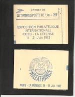 2 CARNETS   2186 C 1  Et  2186 C 1a    Neufs   Cote 110,00  Les Deux - Usage Courant