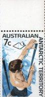 Australian Antarctic 1966 7c Measuring Snow Strata MNH - Unused Stamps