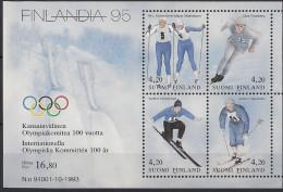 1994 Finnland Mi. Bl 11**MNH Finnische Olympiasieger. - Neufs