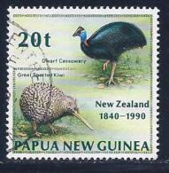 Papua New Guinea, Scott # 739 Used Birds, 1990 - Papua New Guinea