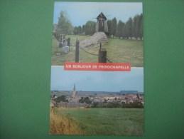 Un Bonjour De FROIDCHAPELLE --- L' Eglise Et Le Moulin - Froidchapelle