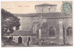 THIRE. - L'Eglise. Animation Rare - France