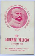CONCENTRATION INERNATIONALE DU CYCLOTOURISME PAUL DE VIVIE ANNEE 1971 - Programs