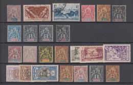 France Oceanie 24 Stamps Used + * - Oceanië (1892-1958)