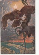 MILITARI -AQUILA DI SAVOIA -OR VINCI LA BICIPITE GRIFAGNA-N°366-2 SCAN - Militari