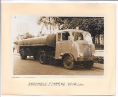 CAMION - Ensemble Citerne 20.000 Litres - Camions & Poids Lourds