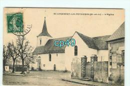 Br - 49 - SAINT LAMBERT LA POTHERIE - L'église - RARE Et INCONNUE  - édition Georges - France