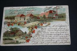 LITHO-AK Gruss Vom Hirschbräu,Rottendorf Gelaufen 1903 Signiert Franz Scheiner !!! - Wuerzburg