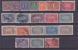 Reich, N°163...192, 20 Valeurs ( 1601/21) - Germania