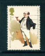 GREAT BRITAIN  -  2012  Charles Dickens  1st  Used As Scan - Used Stamps
